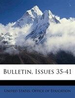 Bulletin, Issues 35-41