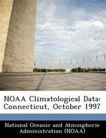 Noaa Climatological Data: Connecticut, October 1997