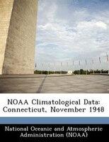 Noaa Climatological Data: Connecticut, November 1948