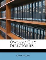 Owosso City Directories...