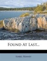 Found At Last...