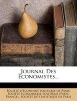 Journal Des Économistes...