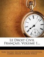 Le Droit Civil Franthais, Volume 1...