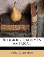 Religious Liberty In America...