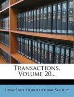 Transactions, Volume 20...