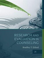 Research And Evaluation In Counseling