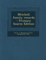 Mitchell family records