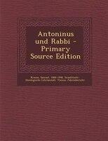 Antoninus und Rabbi