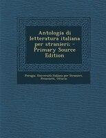 Antologia di letteratura italiana per stranieri;