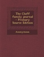 The Cluff family journal
