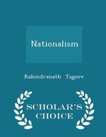 Nationalism - Scholar's Choice Edition