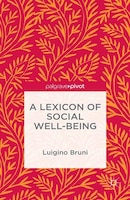 A Lexicon Of Social Well-being