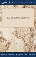 Petit tableau de Paris: pour 1821
