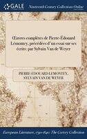 Ouvres complètes de Pierre-Édouard Lémontey, précédées d'un essai sur ses écrits: par