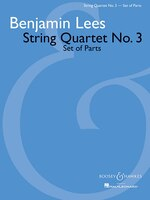 String Quartet No. 3: Set of Parts