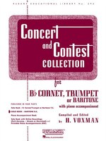 Concert And Contest Collection: Solo Book - Baritone B.c.