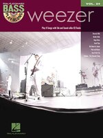Weezer: Bass Play-Along Volume 24