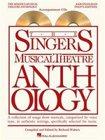 The Singer's Musical Theatre Anthology - Teen's Edition: Baritone/Bass Accompaniment CDs Only