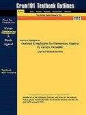 Outlines & Highlights For Elementary Algebra By Larson, Hostetler