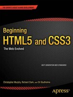 Beginning HTML5 and CSS3 is your introduction to the new features and elements of HTML5—as a web developer you''ll learn about all the leaner, cleaner, and more efficient code available now with HTML5, along with some new tools that will allow you to create more meaningful and richer content