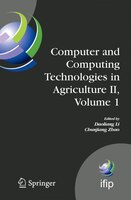 Computer and Computing Technologies in Agriculture II, Volume 1: The Second IFIP International Conference on Computer and Computin
