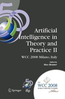 Artificial Intelligence in Theory and Practice II: IFIP 20th World Computer Congress, TC 12: IFIP AI 2008 Stream, September 7-10,