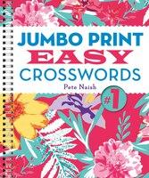 Jumbo Print easy Crosswords #1