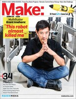 Make:  Technology On Your Time Volume 39: Robotic Me