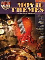 Movie Themes: Violin Play-along Volume 31