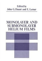 Monolayer and Submonolayer Helium Films