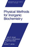 Physical Methods for Inorganic Biochemistry