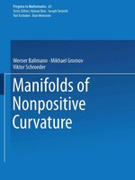 Manifolds of Nonpositive Curvature