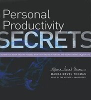 Personal Productivity Secrets