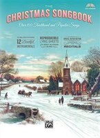 The Christmas Songbook: Over 100 Traditional And Popular Songs, Hardcover Book & Enhanced Cd