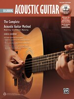 Complete Acoustic Guitar Method: Beginning Acoustic Guitar,