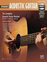 complete acoustic guitar method intermediate book dvd