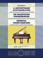 Essential Finger Exercises: Piano
