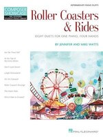 Roller Coasters & Rides: Eight Duets For 1 Piano, 4 Hands Composer Showcase Intermediate Piano Duets