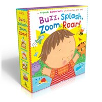 Buzz, Splash, Zoom, Roar!: 4-book Karen Katz Lift-the-Flap G