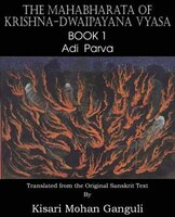 The Mahabharata Of Krishna-dwaipayana Vyasa  Book 1  Adi Parva