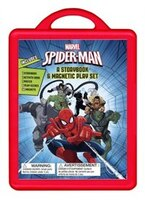 Spider-man:  An Amazing Book And Magnetic Play Set: Book And