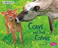 Cows and Their Calves: A 4D Book