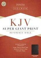 KJV SUPER GT PT BLK BON: Bonded Leather - Black