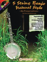 5 String Banjo Natural Style: No Preservatives