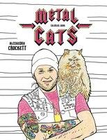 Metal Cats Coloring Book