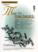 Music For Brass Ensemble: Music Minus One Trumpet