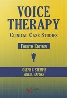 Voice Therapy: Clinical Case Studies