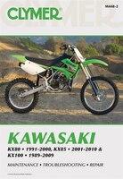 Kawasaki Kx80 91-00, Kx85 01-10 And Kx100 89-09 - Penton Staff