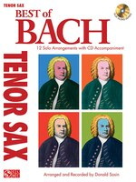 Best Of Bach: 12 Solo Arrangements with CD Accompaniment