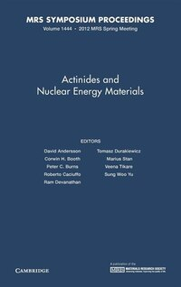 Actinides and Nuclear Energy Materials:  Volume 1444